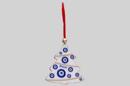 Griekse hanger voor in de kerstboom